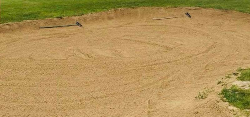 Shoreline Aggregate Golf Course Bunker Sand