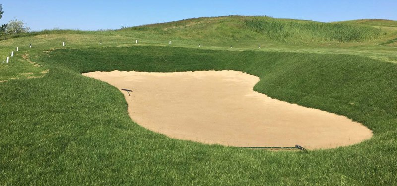 Shoreline Aggregate Golf Course Bunker Sand Niblick