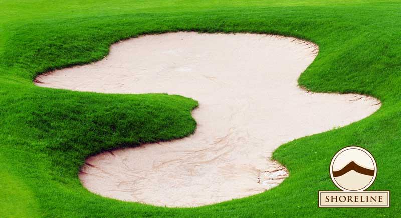 Shoreline Aggregate Bunker Sand for Golf Courses
