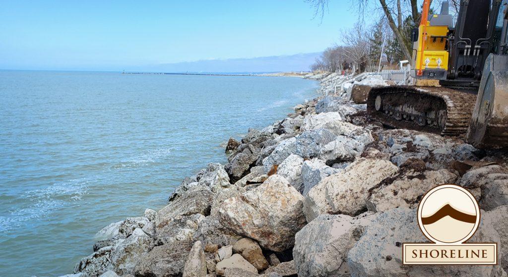 Shoreline Aggregate, Armour Stone Aggregate, Armour Stone Aggregate in River Revetment and shoreline protection
