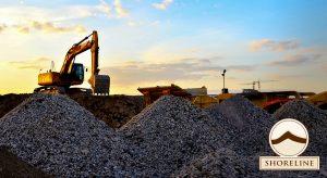 Shoreline Aggregate, Crushed Limestone, Construction Aggregate